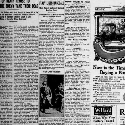The Madison Daily Leader - Fonte: Library of Congress